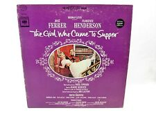 LP Record - THE GIRL WHO CAME TO SUPPER Original Broadway Cast KOS-2420 H. Levin
