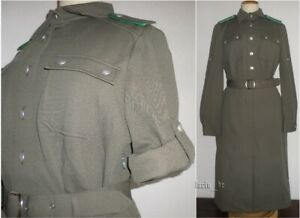 80s , socialist DDR East german army NVA Border Troops woman ladys Uniform Dress