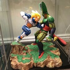 DragonBall Z VKH Statue Resin Vegeta vs Cell Bejita vs Cell No Tsume DBZ
