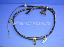 Handbrake Cable Rear for Nissan Navara 4x4 Pickup D22 2.5TD 1998->