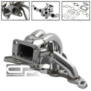 STAINLESS T3 RACING SPORT TURBO MANIFOLD FOR 85-89 TOYOTA MR2/COROLLA AE86 4A-GE
