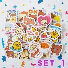 Rilakkuma, The Lazy Bear Japanese Anime Cartoon Stickers (Buy 3 GET 1 FREE)