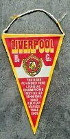 *Rar* Wimpel Liverpool F.C. F.A. Cup Winner 1965 Pennant Football Fussball FIFA