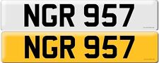 PRIVATE NUMBER PLATE  NGR 957 CHERISHED NUMBER PLATE NGR 957
