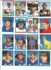 1982 O-Pee-Chee Baseball Sticker Bill Madlock #1 Pittsburgh Pirates *MINT*