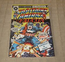 Vintage Heritage French Comics Book Capitaine America #57 / 1975 FREE SHIPPING
