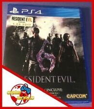 RESIDENT EVIL 6 HD - PS4 Playstation 4 - vers.EU ITALIANO - Nuovo