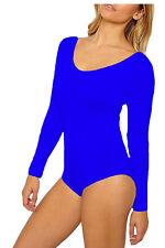 PAPAVAL KLSL Kids Girls Full sleeve Leotard Bodysuit Dance Gymnastics Ballet Top