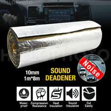 1M x 8M 10MM Car Mats Sound Deadener Heat Shield Insulation Noise Proofing Foam