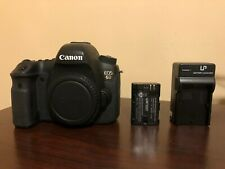 Used Canon EOS 6D Full Frame 20.2MP Digital SLR Camera Body #645