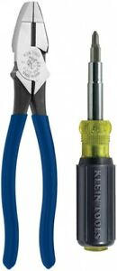 Electrical Tool Set 2-Piece Interchangeable Blades with Cushion-Grip Handle