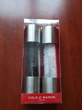 Cole & Mason Contemporary Salt & Pepper Mills Gift Set