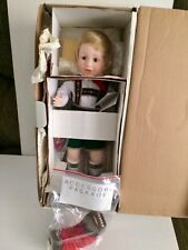 "Danbury Mint Nancy Leslie 18"" Porcelain Oktoberfest ""Karl"" Doll New In Box"