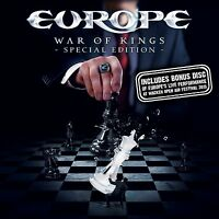 EUROPE - WAR OF KINGS (SPECIAL EDITION)  CD + DVD NEU