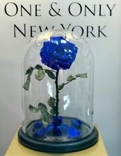 Forever Rose in Glass Dome Beauty And The Beast Preserved Eternal Gift Mother'sL