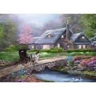 5D Full Drill Diamond Painting Countryside Cottage Embroidery Art Decoration