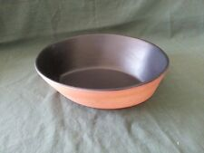 Paul Eshelman Modernist Studio Pottery Medium Boat Bowl Black Satin 1998 USA