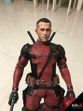 HOT FIGURE TOYS 1/6 Deadpool Ryan Reynolds headplay Custom