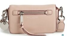 NWT Marc by Marc Jacobs  Recruit Nude Pink Leather Crossbody Bag