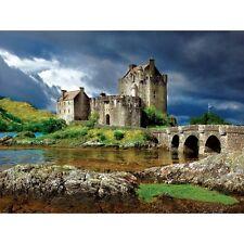 Buffalo Games Majestic Castles: Eilean Donan - 750 Piece Jigsaw Puzzle NEW