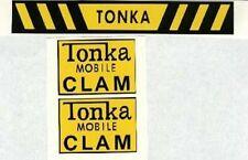 TONKA  MOBILE  CLAM  DECAL  SET
