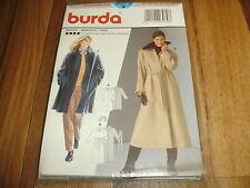 BURDA Schnittmuster 3079             2x  MANTEL / Kurz+Maxi            36-46