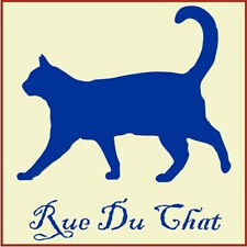 FRENCH  RUE DU CHAT STENCIL- The Artful Stencil