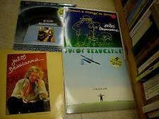 lot de 4 disques vinyles 33 tours de julos beaucarne