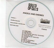 (DZ40) Souid Of Guns, Angels And Enemies - 2011 DJ CD