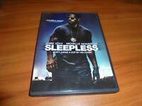 Sleepless (DVD, Widescreen 2017)