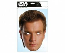 Obi-Wan Kenobi Official Star Wars Single Card 2D Party Face Mask Ewan McGregor