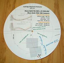 Micro SEIKI MA-505L/M-505LXII/MAX-282 BRACCIO CARTUCCIA allineamento Goniometro