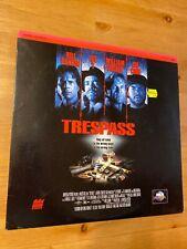 Trespass -  Laserdisc Good condition