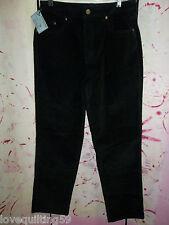 """RELATIVITY"" Black Corduroy Pants, 8Petite, Straight Leg, 5 Pocket 5 Loop,"