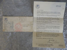 NATIONAL AIR MAIL WEEK AMERICAN AIRLINES WASHINGTON DC 1938 LETTER & ENVELOPE