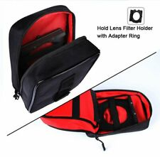 Bag Pouch For 100*150MM Square Filter Cokin Z ZOMEI 16 Pockets Nylon Lens Case