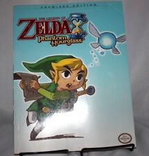 Legend Of Zelda Phantom Hourglass Strategy Guide Hint Book Premiere Edition