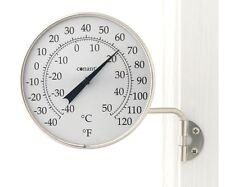 Conant Custom Dial Thermometer Satin Nickel Finish CCBT6SN