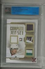 Teemu Selanne ITG Ultimate Vault 1/1 on UM12 Complete Jersey.Gold  Ruby Logo.