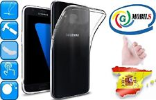 Funda gel transparente carcasa flexible para Samsung Galaxy S7 Edge 1mm