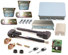 Drehtorantrieb automatisch gesteuerts 2-flügeliges Tor, Trafo, 2 Kanal Controler