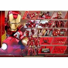 Hot Toys MMS500D27 Iron Man Mark VII Mk 7 Diecast Figure 1/6 Ironman + Shipper