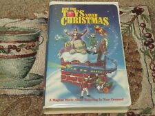 HOW THE TOYS SAVED CHRISTMAS~HOLIDAY VHS~MARY TYLER MOORE~TONY RANDALL~TESTED~VG