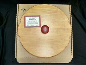 LONGABERGER WOODCRAFTS 54526 LID RED 12 DAYS OF CHRISTMAS W/BOX 100% MAPLE