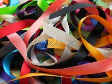 Berisfords 15mm Double Satin Ribbon Assorted Colours 10 X 1Mtr Lengths
