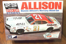 MPC DONNIE ALLISON'S MERCURY STOCK CAR MODEL KIT 1/25 SCALE