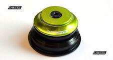 """Steuersatz FSA SX Pro No.55 1 1/8""""-1.5"""" tapered semiintegiert (ZS44/ZS55) grün"""