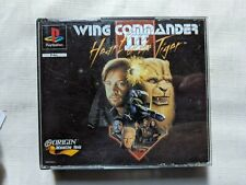 Wing commander 2 Ps1 sony PlayStation 1 PAL Free post M