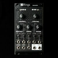 Mutable Instruments Rings Eurorack Synth Resonator Module (Black Textured)