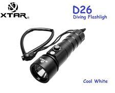 XTAR Whale D26 Cree XM-L2 U3 LED 1100 Lm 100M Diving Flashlight Torch